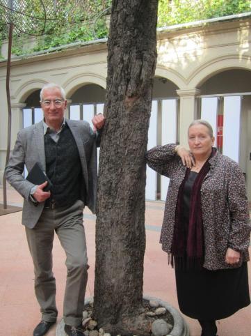 David Cirici y Pilar Molina