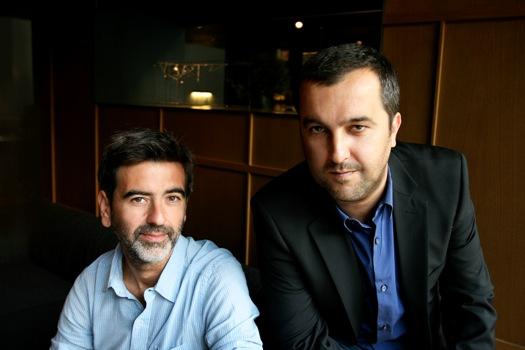Antonio Lozano y Álvaro Colomer