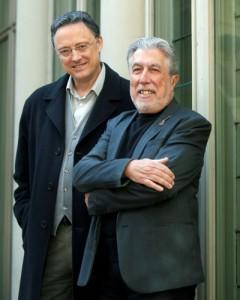 Luis Leante y Jordi Sierra i Fabra1